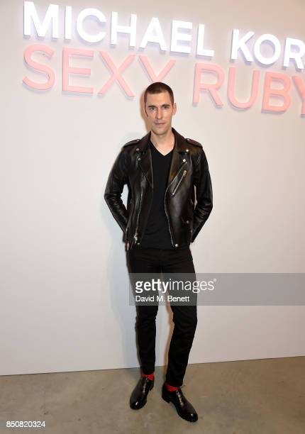 Clym Evernden attends the Michael Kors Sexy Ruby Fragrance Launch on September 21 2017 in London United Kingdom