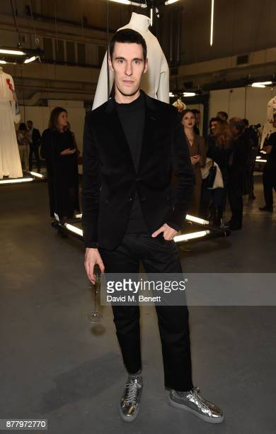 Clym Evernden attends the WHITE cocktail party hosted by Italian Trade Agency at Ambika on November 23 2017 in London England