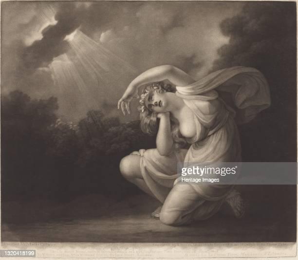 Clytie, 1785. Artist Valentine Green.