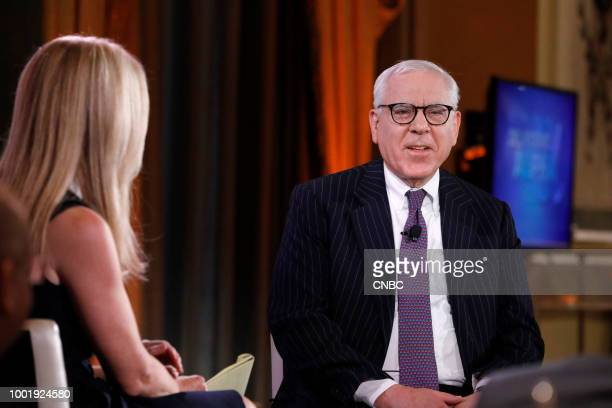 ALPHA CNBCs Becky Quick interviews David M Rubenstein The Carlyle Group CoFounder and CoExecutive Chairman at the CNBC Institutional Investor...