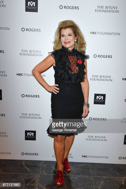 Co Chair Vonna Bitove attends the HBC Foundation presentation of Haute Affair in support of the Dotsa Bitove Wellness Academy and the Darling Home...