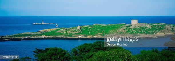 co dublin, dalkey island, ireland - dalkey stock pictures, royalty-free photos & images