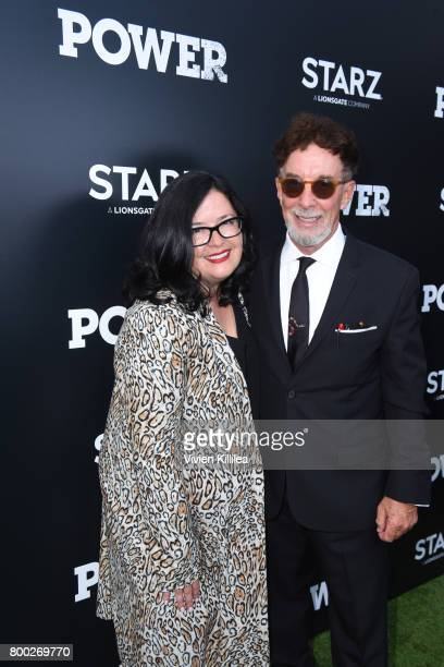 Co executive producer Shana Stein and executive producer Mark Canton attend STARZ 'Power' Season 4 LA Screening And Party at The London West...