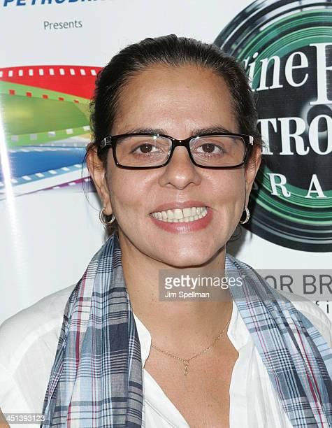 Co- Founder of the Cine Fest Petrobras Brasil Adriana Dutra attends the 7th Annual Cine Fest Petrobras Brasil screening of Loki-Arnaldo Baptista at...