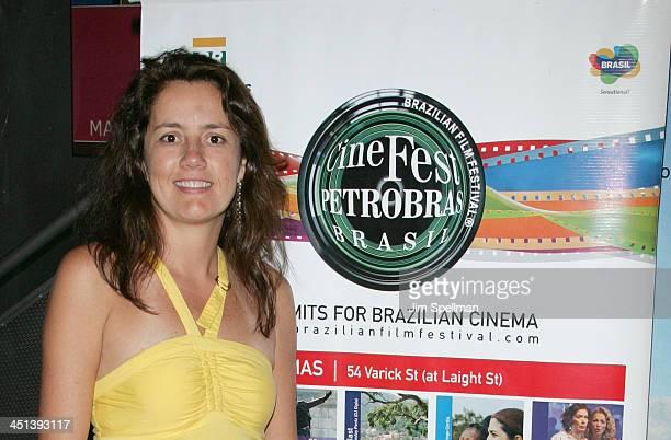 Co- Founder of the Cine Fest Petrobras Brasil Viviane Spinelli attends the 7th Annual Cine Fest Petrobras Brasil screening of Loki-Arnaldo Baptista...