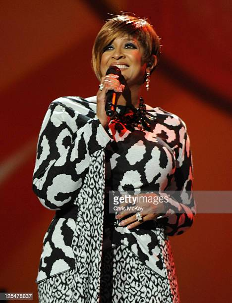 Co Host Dorinda ClarkCole performs during Verizon's How Sweet The Sound 2011 at Philips Arena on September 17 2011 in Atlanta Georgia