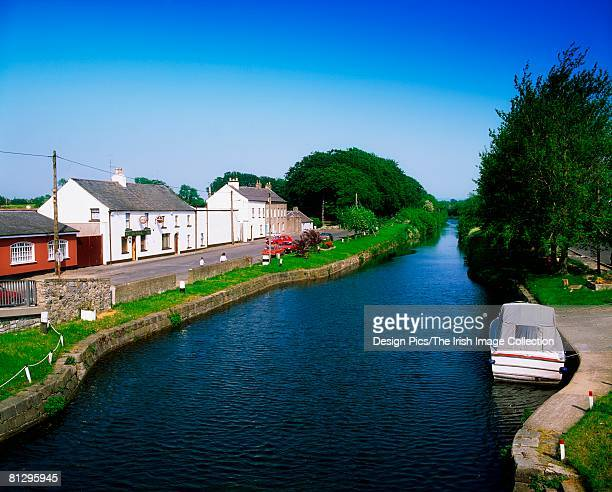 co kildare, the grand canal, at sallins - kildare stock photos and pictures