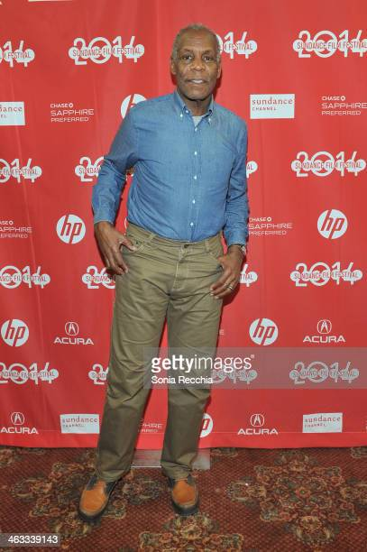 Co Producer Danny Glover attends Concerning Violence Premiere 2014 Sundance Film Festival at Yarrow Hotel Theater on January 17 2014 in Park City Utah