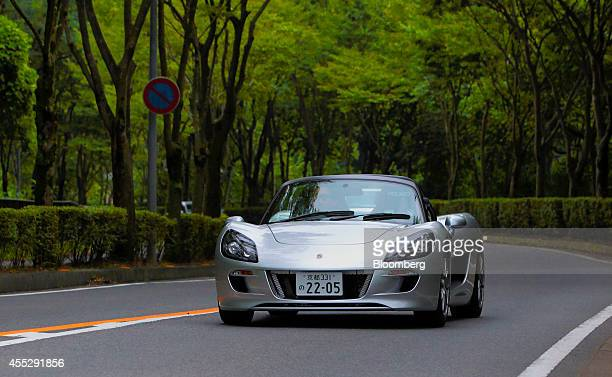 Co Tommykaira ZZ electric vehicle is driven on a road in Uji Kyoto Prefecture Japan on Tuesday Aug 12 2014 GLM is a Kyoto Japan based electric...