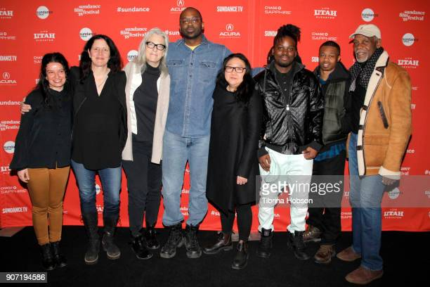 Co Writer Maya Krinsky executive producer Laura Poitras producer Joslyn Barnes director/writer/editor RaMell Ross producer Su Kim Quincy Bryant...