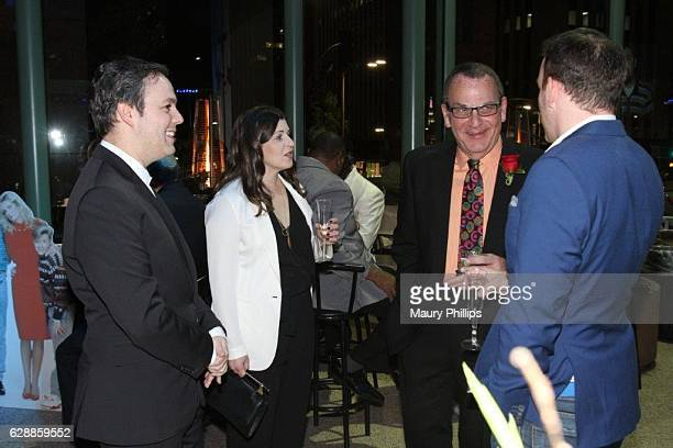 Co writers Ido Ostrovsky Nora Grossman and Peter Mainstain attend Tanner Mainstain Glynn And Johnson's 40th Anniversary Milestone on December 3 2016...