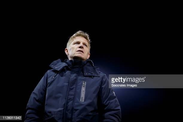 coach Alfons Groenendijk of ADO Den Haag during the Dutch Eredivisie match between De Graafschap v ADO Den Haag at the De Vijverberg on March 1 2019...