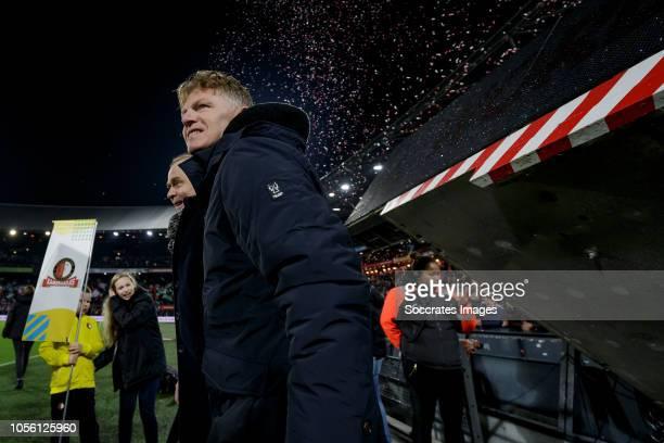 coach Alfons Groenendijk of ADO Den Haag during the Dutch KNVB Beker match between Feyenoord v ADO Den Haag at the Stadium Feijenoord on November 1...