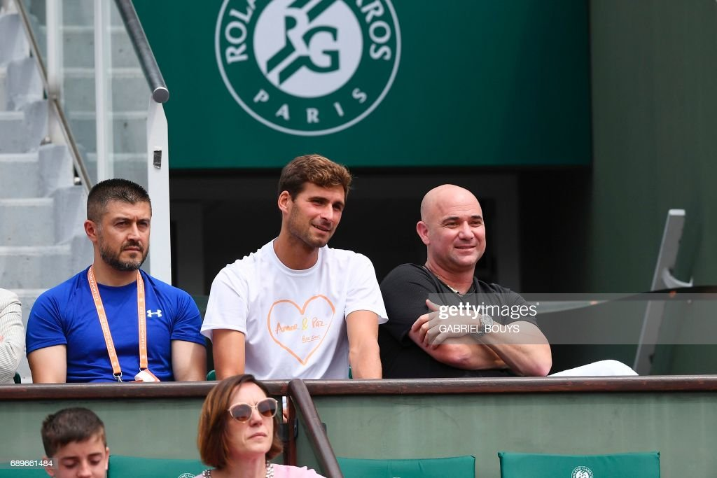 Us Coach Andre Agassi And Marko Djokovic The Brother Of Serbia S News Photo Getty Images
