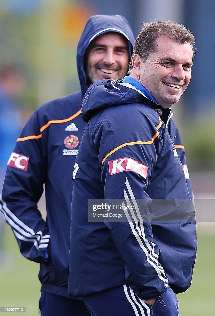 Melbourne Victory Training Session : ニュース写真