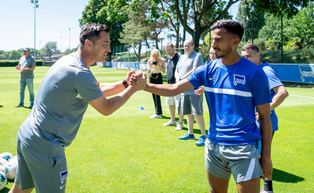 DEU: Start of training for the U23 of Hertha BSC