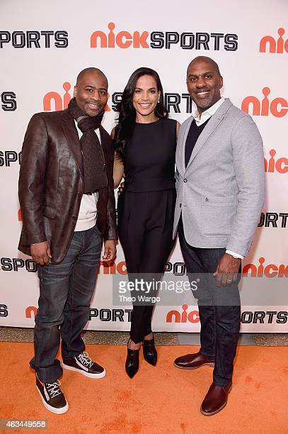 Coach Billy Council Director Crystal McCrary and Senior Vice President and General Manager of Nicktoons TeenNick and Nick Jr Keith Dawkins attends...