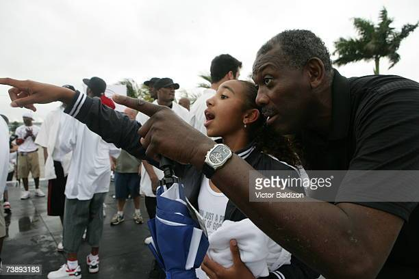 Coach Bob McAdoo of the Miami Heat attends the 2007 Family Festival on April 15 2007 at Watson Island in Miami Florida NOTE TO USER User expressly...