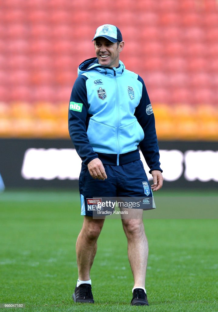 New South Wales Blues Captain's Run