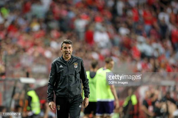 Coach Bruno Lage of SL Benfica in action during the PreSeason football match 2019/2020 between SL Benfica vs Royal Sporting Club Anderlecht