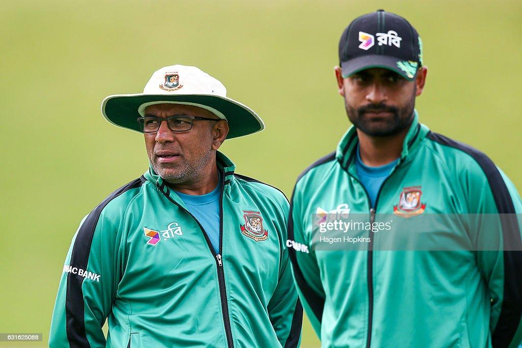 New Zealand v Bangladesh - 1st Test: Day 3 : News Photo