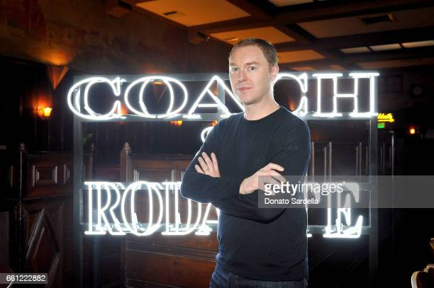Coach Creative Director Stuart Vevers attends the Coach Rodarte celebration for their Spring 2017 Collaboration at Musso Frank on March 30 2017 in...