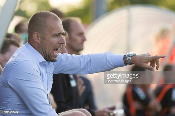 Coach Danny Buijs of FC Groningen during the Club Friendly match between vv 't Fean '58 v FC Groningen at the Sportpark It Ketting on July 7 2018 in...