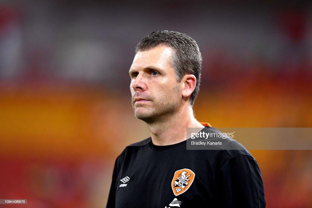 A-League Rd 15 - Brisbane v Melbourne : News Photo