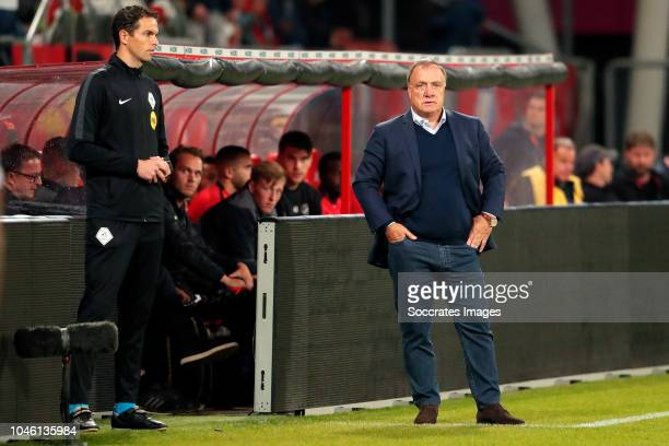 coach Dick Advocaat of FC Utrecht during the Dutch Eredivisie match between FC Utrecht v NAC Breda at the Stadium Galgenwaard on October 5 2018 in...