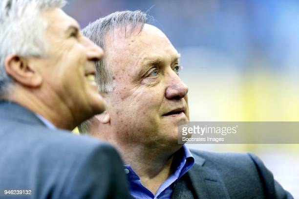 coach Dick Advocaat of Sparta Rotterdam during the Dutch Eredivisie match between Vitesse v Sparta at the GelreDome on April 14 2018 in Arnhem...