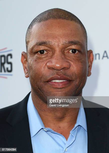 NBA coach Doc Rivers attends the 31st Annual CedearsSinai Sports Spectacular Gala at W Los Angeles in West Beverly Hills on March 25 2016 in Los...
