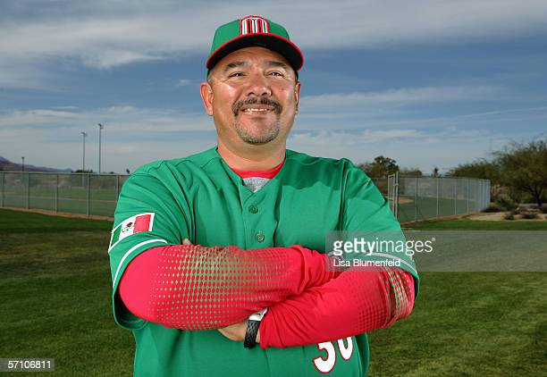 Coach Enrique Reyes of Mexico poses for a portrait during the World Baseball Classic Photo Day on March 5 2006 in Tuscon Arizona