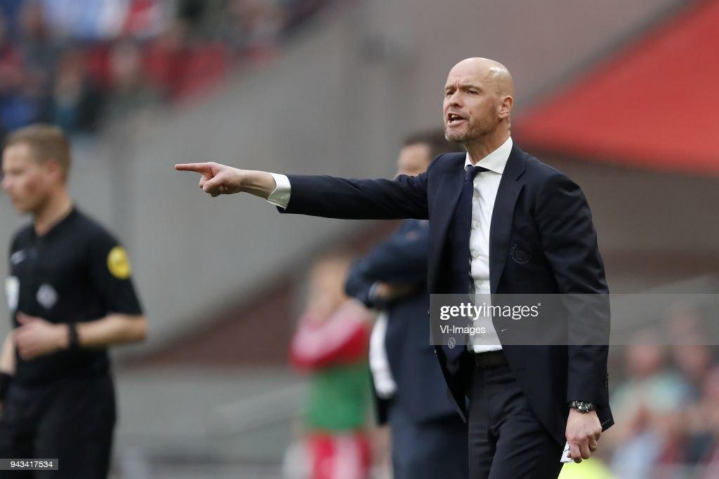 """Dutch Eredivisie""""Ajax v Heracles Almelo"""" : Foto di attualità"""