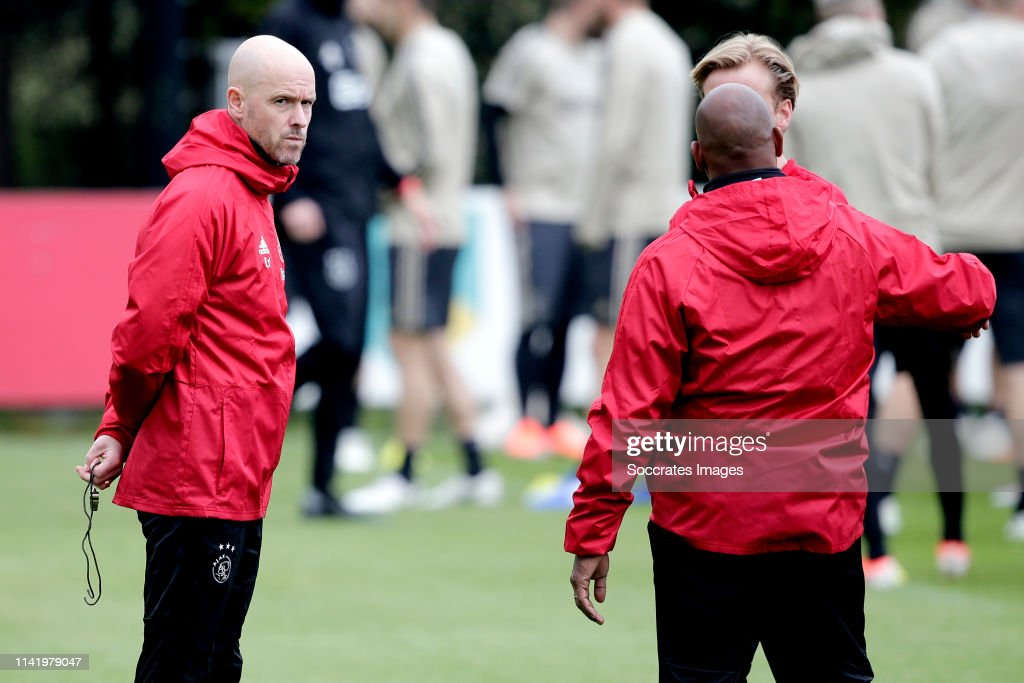 Training session  Ajax  - UEFA Champions League : News Photo