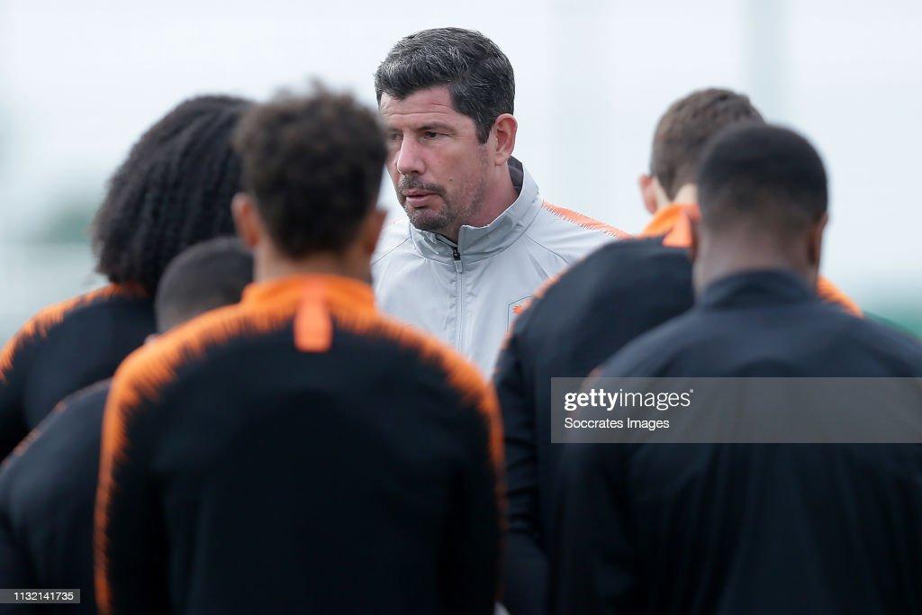 ESP: Netherlands U21 Training Session