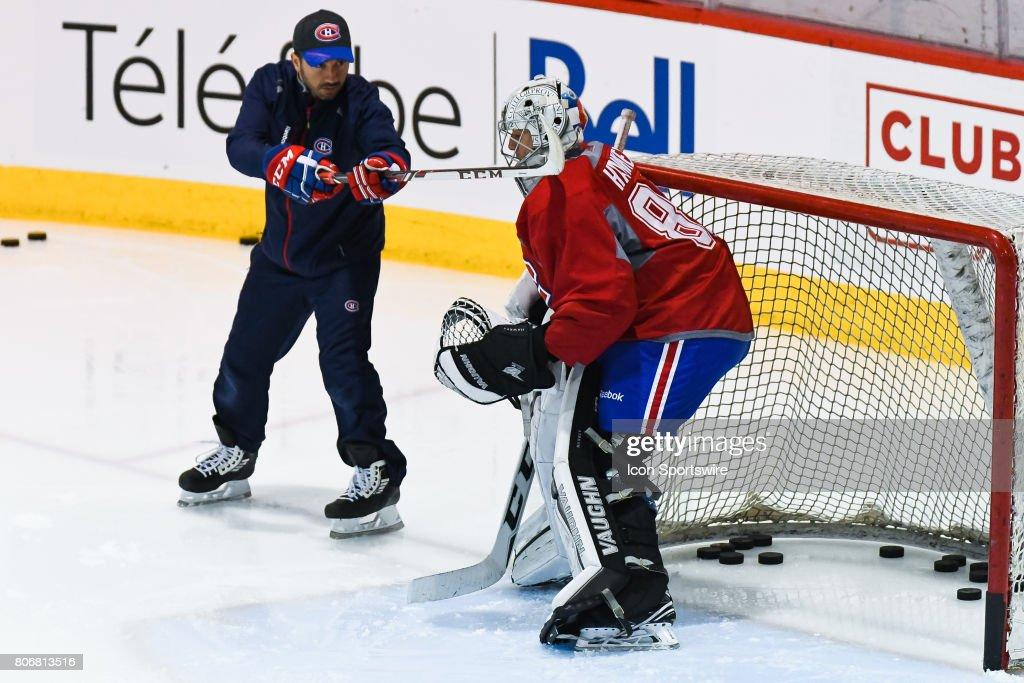 NHL: JUL 03 Canadiens Development Camp : News Photo