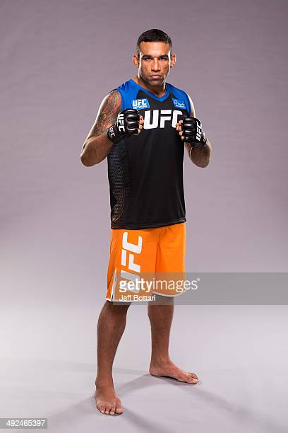 Coach Fabricio Werdum poses for a portrait on media day during filming of The Ultimate Fighter Latin America on May 15 2014 in Las Vegas Nevada