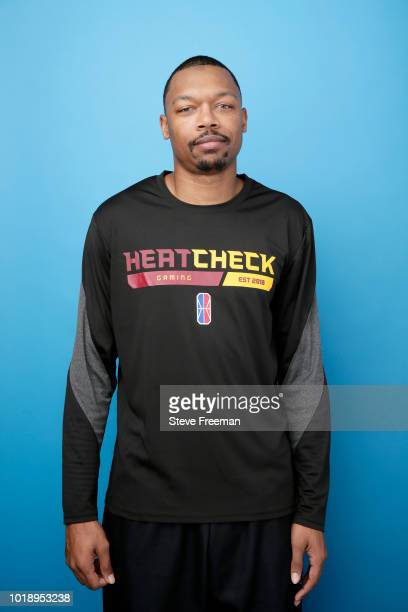 Coach Famous Enough poses for a photo on August 18, 2018 at the NBA 2K Studio in Long Island City, New York. NOTE TO USER: User expressly...