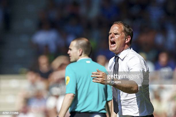 coach Frank de Boer of Ajax during the Dutch Eredivisie match between De Graafschap and Ajax Amsterdam at the Vijverberg on May 08 2016 in Doetinchem...