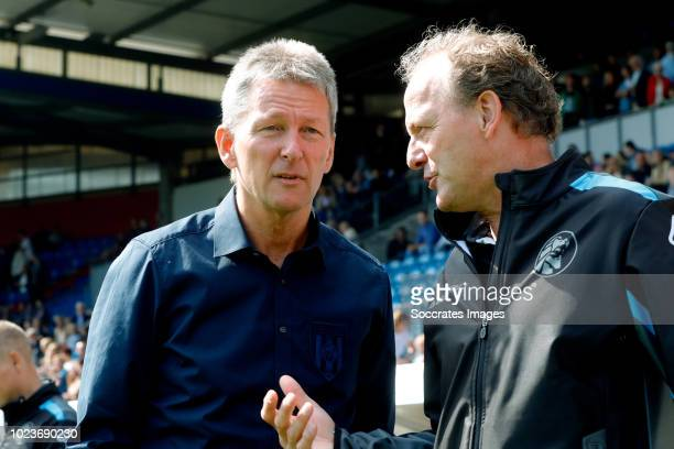 coach Frank Wormuth of Heracles Almelo during the Dutch Eredivisie match between Willem II v Heracles Almelo at the Koning Willem II Stadium on...