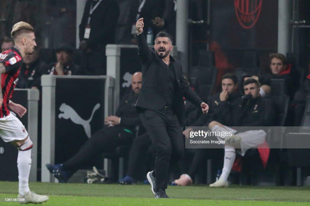 AC Milan v Juventus - Italian Serie A : News Photo