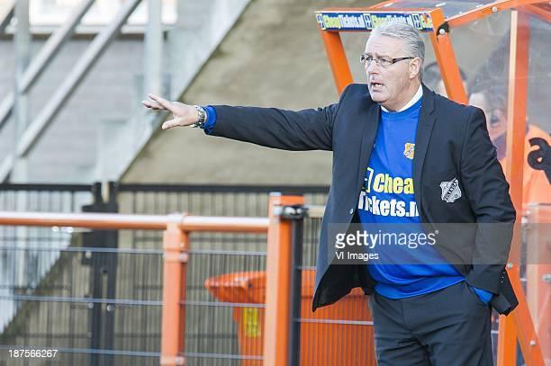 coach Hans de Koning of FC Volendam