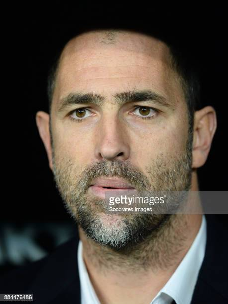 coach Igor Tudor of Galatasaray during the Turkish Super lig match between Besiktas v Galatasaray at the Vodafone Park on December 2 2017 in Istanbul...