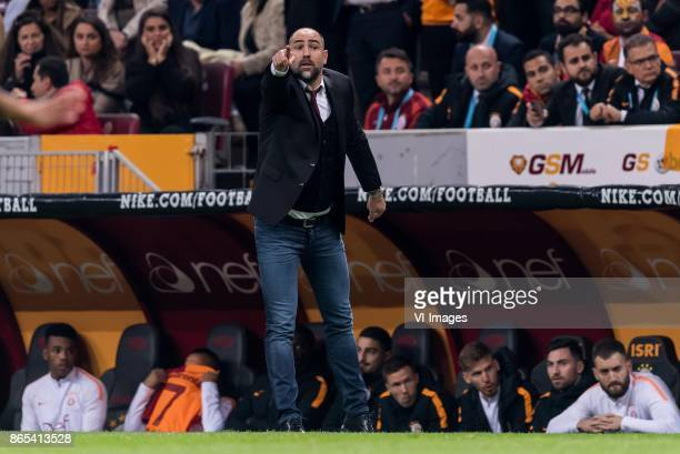coach Igor Tudor of Galatasaray SK during the Turkish Spor Toto Super Lig football match between Galatasaray SK and Fenerbahce AS on October 22 2017...