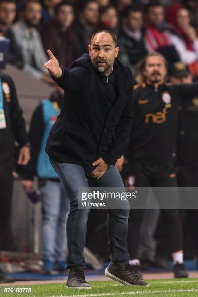 coach Igor Tudor of Galatasaray SK during the Turkish Spor Toto Super Lig football match between Medipol Basaksehir FK and Galatasaray AS on November...