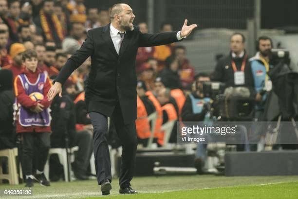 coach Igor Tudor of Galatasarayduring the Turkish Spor Toto Super Lig football match between Galatasaray SK and Besiktas JK on February 27 2017 at...