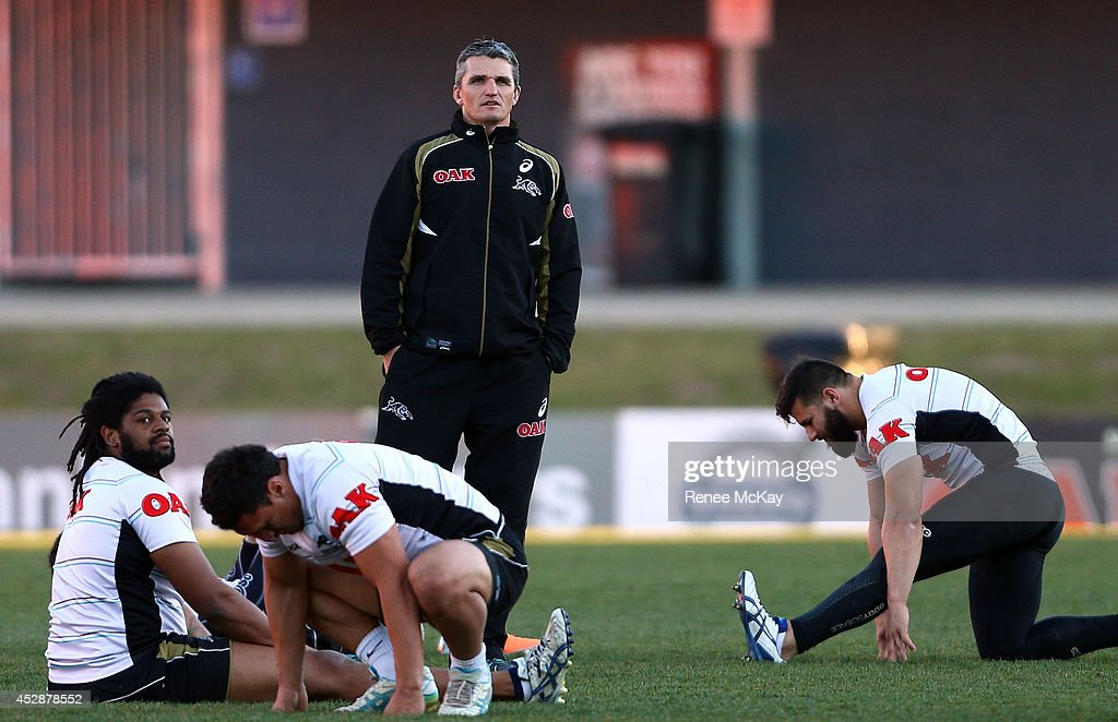 Penrith Panthers Training Session