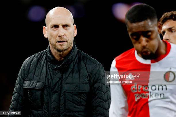 coach Jaap Stam of Feyenoord during the UEFA Europa League match between BSC Young Boys v Feyenoord at the Stade de Suisse on October 24 2019 in Bern...