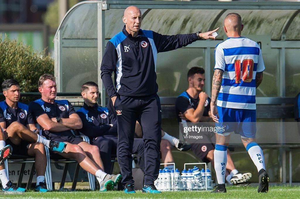 "Friendly - ""Al Taawoun FC v Reading FC"" : News Photo"