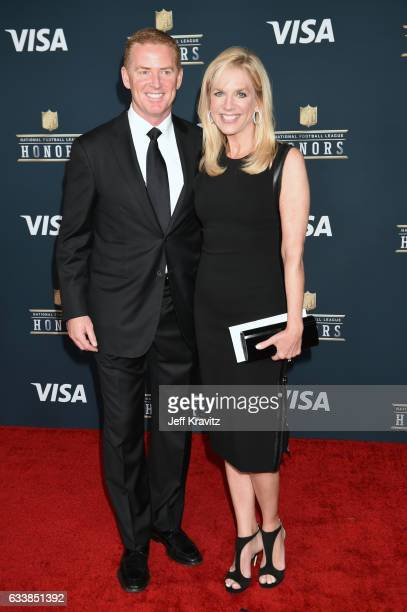 Coach Jason Garrett and Brill Garrett attend 6th Annual NFL Honors at Wortham Theater Center on February 4, 2017 in Houston, Texas.